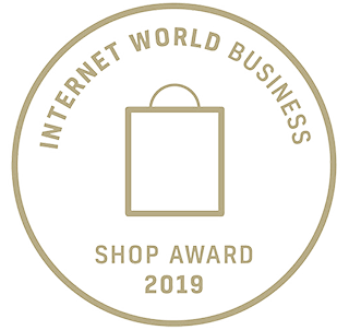 MissPompadour Internet Wolrd Business Shop Award 2019
