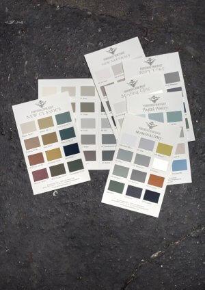 Painting-the-Past-Farbkarten-Kreidefarbe